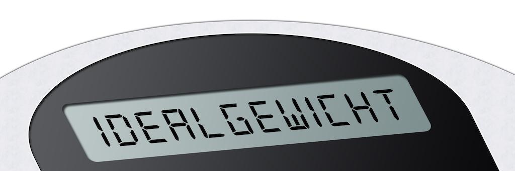 Idealgewicht berechnen